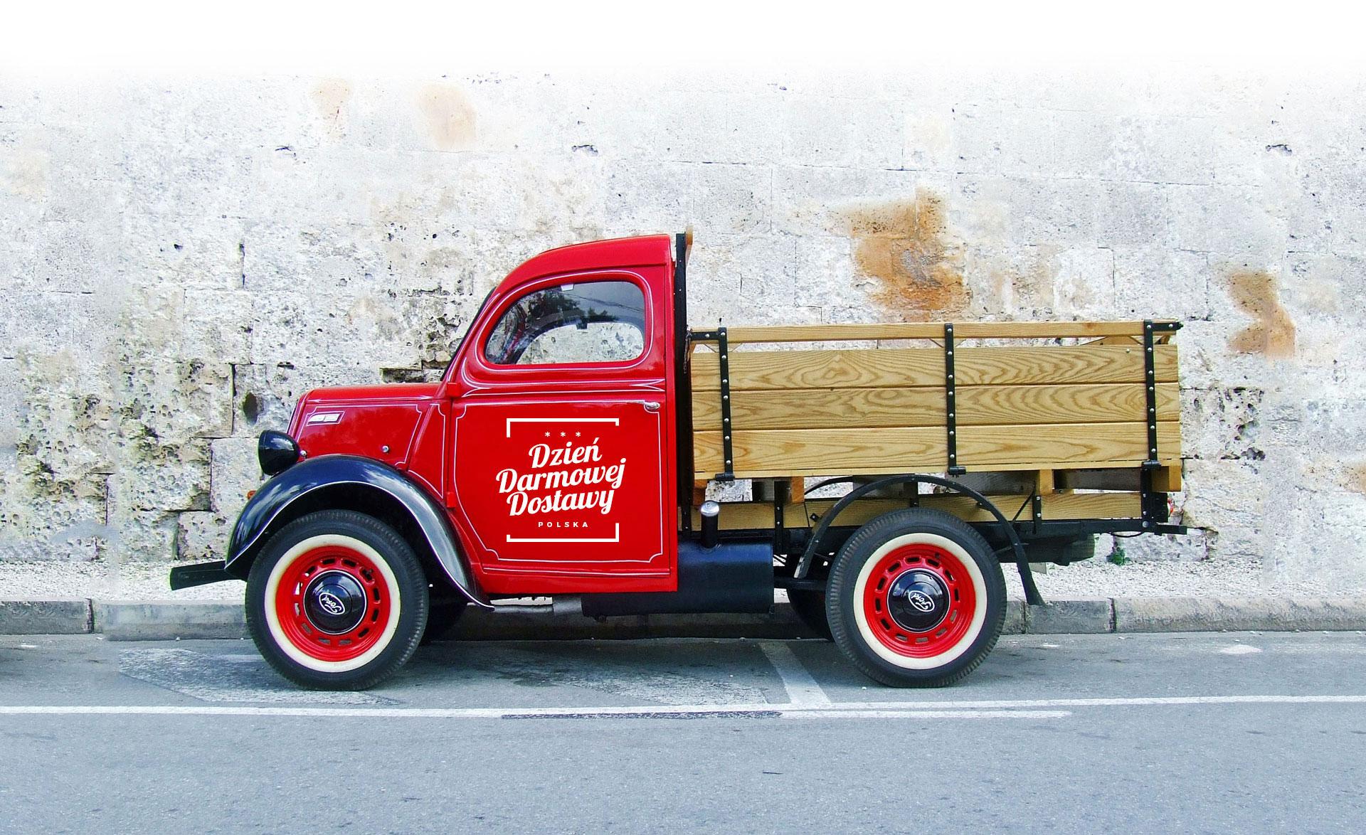furgonetka Dzień Darmowej Dostawy